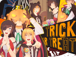 CR - Trick or Treat ! by godangdang