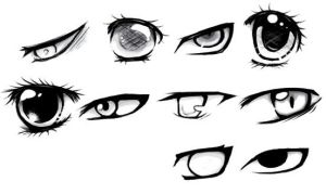 Manga eyes by NicoLin