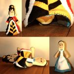 Queen of Hearts, Alice Topsy-Turvy Doll Challenge by Saint-Angel