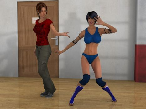 Azumi And Anne By Phoenixcreed by LenStormcrow1988