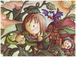 jack and the bean stalk by yehachan