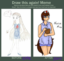 Nurse Mia - Draw this again by ladykayra