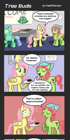 Tree Buds: 5: Baked Goods by PacificGreen