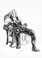 Sephiroth - Master of His Domain by ShonnaWhite