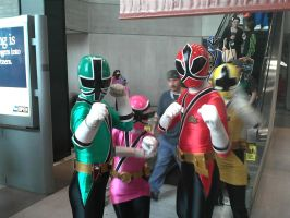 NYCC 2012: Shinkenger Group Shot... Almost by DestinyDecade