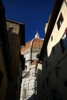Another glimpse of the Duomo by Blue-eyed-Kelpie