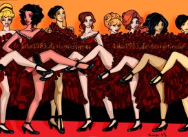 disney princess: moulin rouge by kika1983