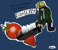 RAWBERRY by kamidog
