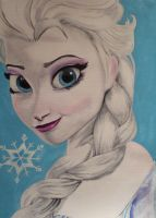 Frozen -Elsa by maja135able