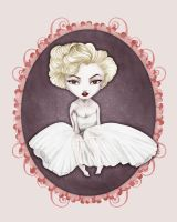 A tribute to Marylin Monroe by graphistopheles