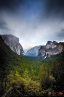 Yosemite Tunnel View II by Furiousxr
