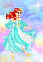 A Walk to Neverland- Ariel by flewyesterday