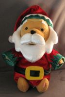 Santa Pooh by RandomCollectibles