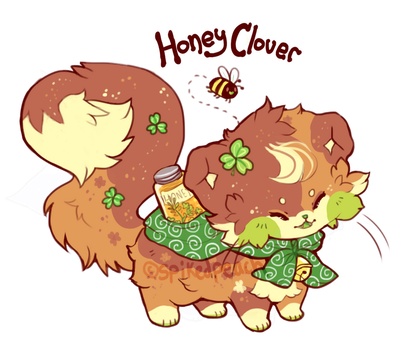 [Sushi Cat] Honey Clover - Auction (CLOSED!) by spikedpeach