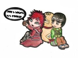 Don't touch Gaara's cookie by BevynJM