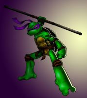 Donatello action figure by Kubi-Wan