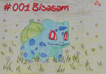 #001 Bulbasaur by DonataRosca