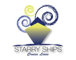 Starry ships logo by dontbemad
