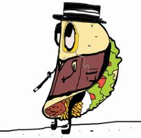 Taco wit da Top Hat by LawrenceF