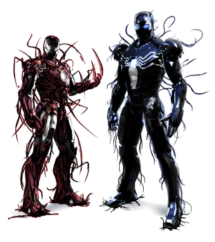 Iron Symbiotes by Dragonfly929