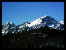Moutain Blue by A-McQ