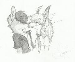 Lick Your Nose by RavingFoxie