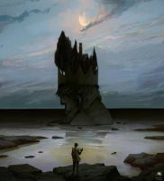 What the moon brings by Reicheran