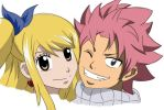 Natsu and lucy by Naruto711