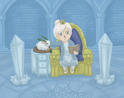 Animal Crossing New Leaf: Pan's ice palace by pan77155