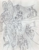 Justice League of America by Taj-P