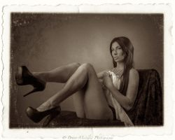 Vintage Boudoir No 2 by BrianMPhotography