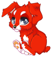 Elias as a pup by Yechii