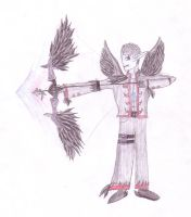 Childhood Drawing - Nighthawk by s1eight