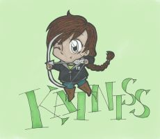 Katniss by AnnoyinglyCute