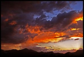 Nature Spilled The Firey Paint by TeaPhotography