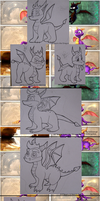 Spyro Evolutions by SetariPlush