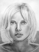 Charlize Theron 2 by wednesdayinblack
