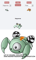 Pokemon Fusion: Magneras by HigginstheAwesome