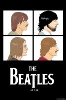 My Beatles Poster by Fleischparade