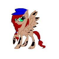 Custom pony for- Magical-Fish by Rainbow-ninja-adopts