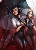 Raining Red by KorraKorra