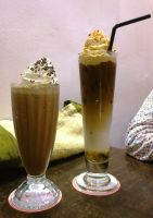 mocha n caramel cappu by plainordinary1