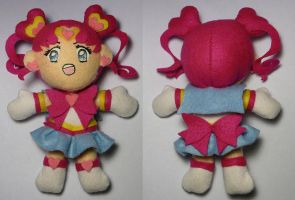 Sailor Chibi Chibi Moon Plush by sakkysa