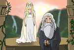 Why the Halfling? - Hobbit Ghibli Style by Juggernaut-Art