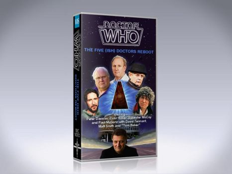 The Five (Ish) Doctors Reboot VHS by Hisi79