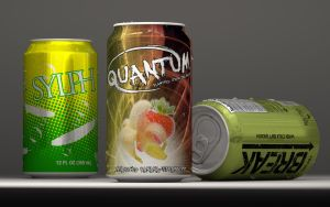 Three Beverage Cans by JDArnold2