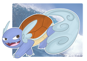 Wartortle Take II by SacredLugia