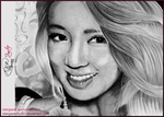 Hyoyeon Drawing by stargazerlily8D