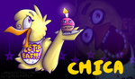 Chica by Roseredren-Cookie