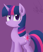 Twilight Sparkle by wildberry-poptart